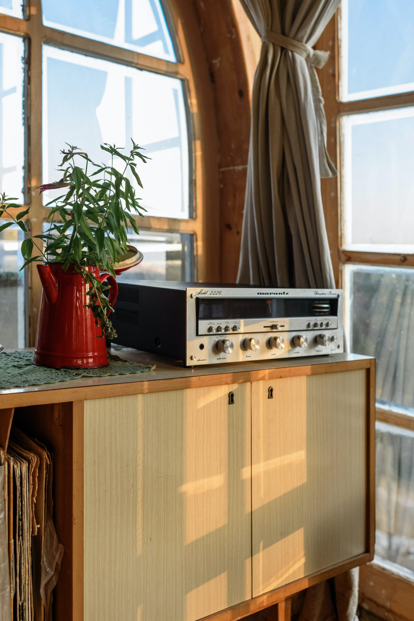 record-player-at-home
